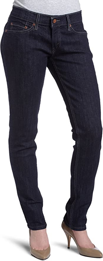 Levi/'s 524 Stretch Denim Skinny Jeans $59 Winter Mint Green Polka Dot