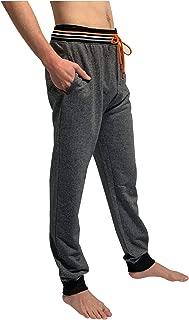 Bottoms Out Men's Flexible Elastic Geo Tile Jogger Sweatpants Two Pockets Athletic Yet Casual Sweatpants for Men