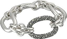 19cm 3 Link Oval Bracelet