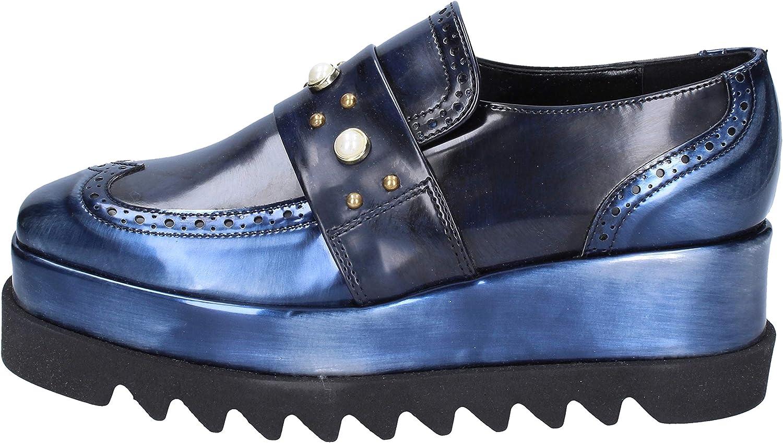 BOTTEGA LOTTI Loafers-shoes Womens bluee