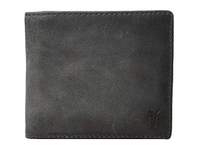 Frye Oliver Billfold (Slate Smooth Pull Up) Bill-fold Wallet