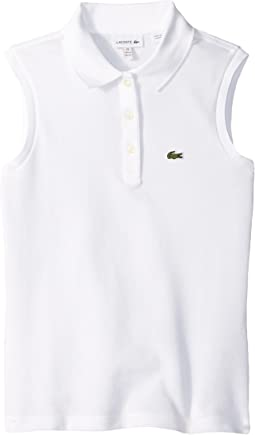 Sleeveless Pique Polo (Toddler/Little Kids/Big Kids)