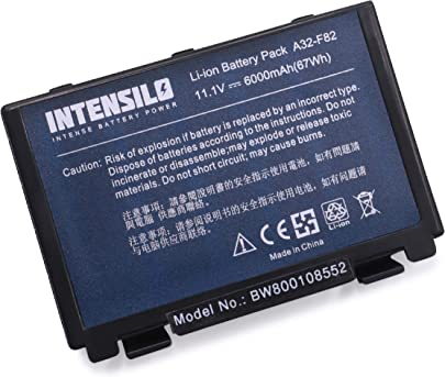 INTENSILO Li-Ion Akku 6000mAh 10 8V f r Notebook Laptop Asus K6c11 K70 K70ic K70ij K70io P50 P50ij wie A32-F82 A32-F52 L0690L6 Schätzpreis : 56,89 €