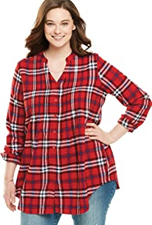 long flannel top