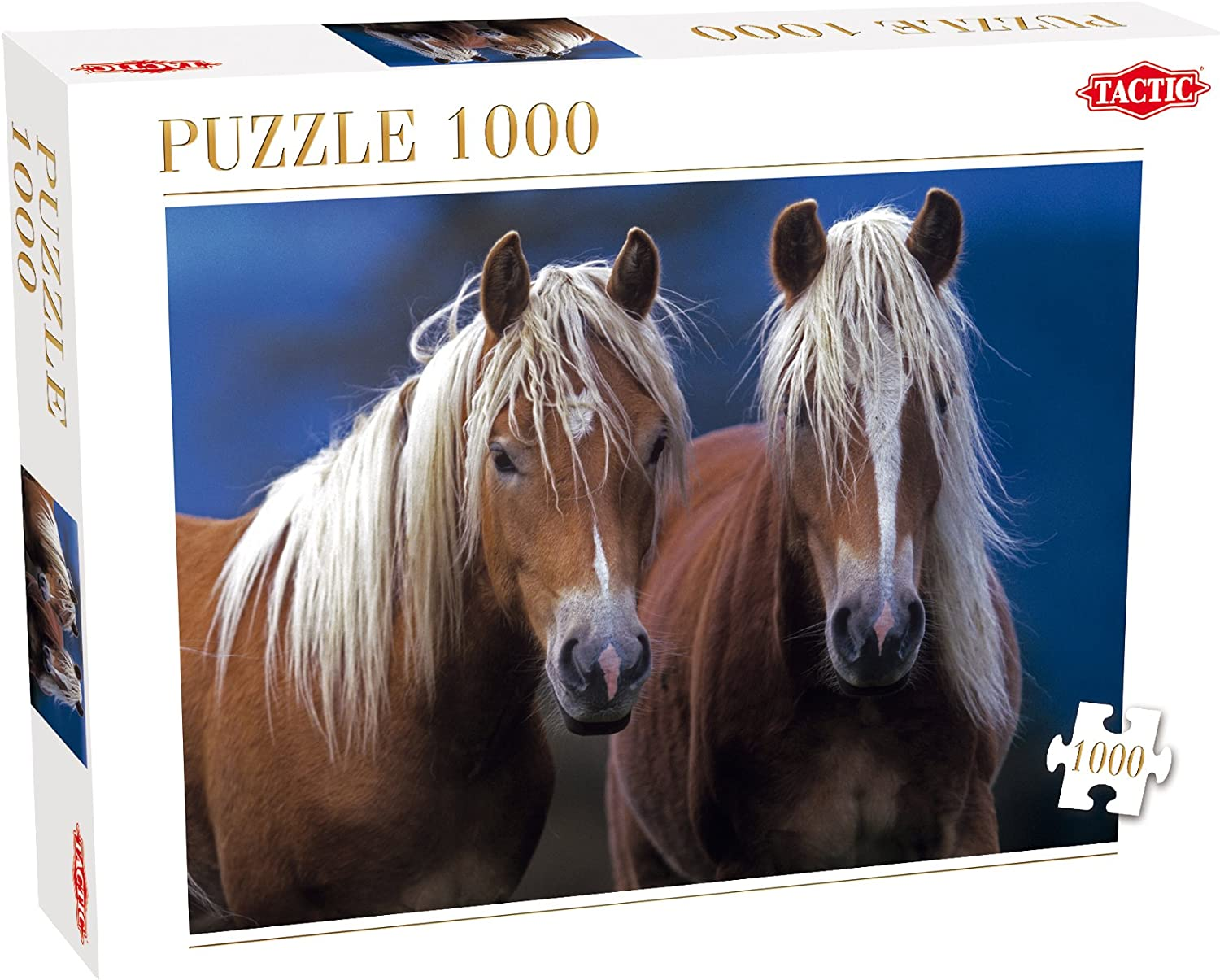 Two Horses Puzzle (1000 Pieces)