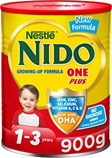 Nestle NIDO One Plus Growing Up Milk Powder Tin For Toddlers 1-3 Years, 900g, Pack of 1