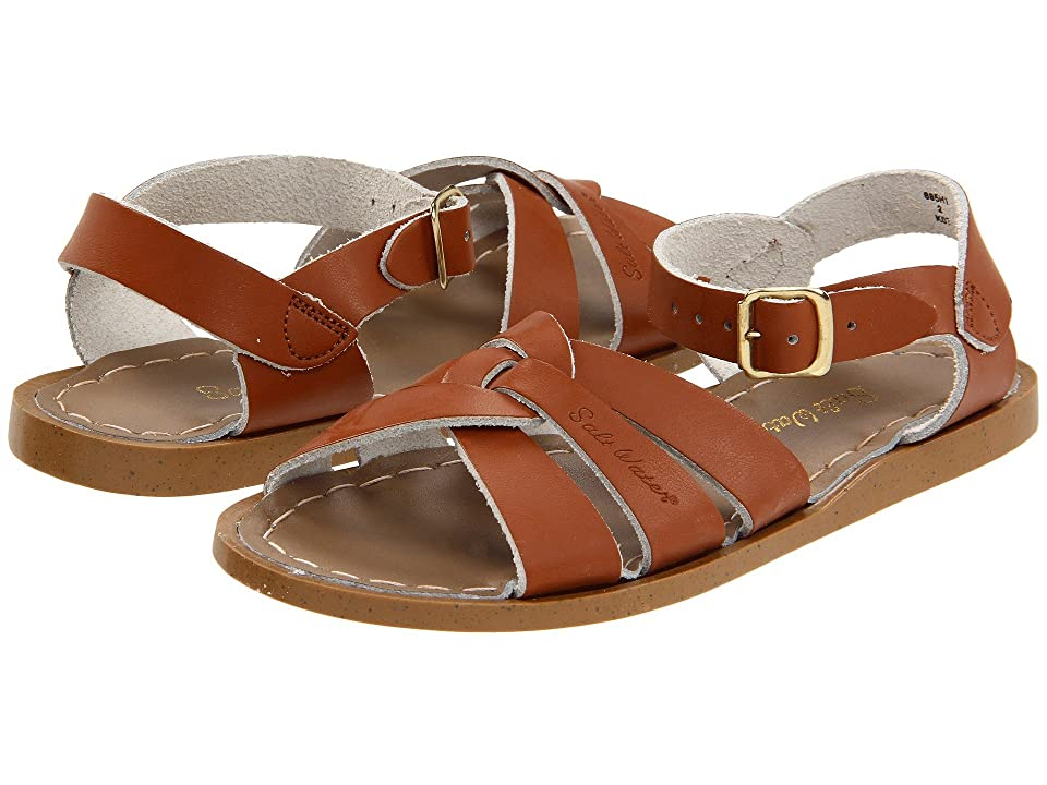 Salt Water Sandal by Hoy Shoes The Original Sandal (Toddler/Little Kid) (Tan) Kids Shoes