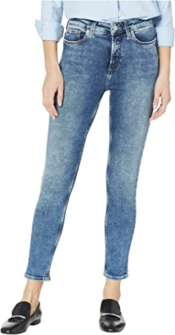 High Note High-Rise Skinny Leg Jeans in Indigo