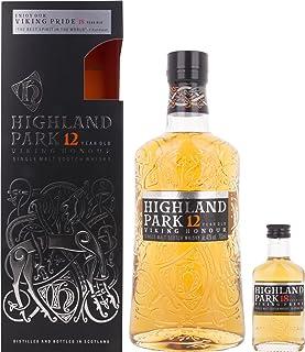 Highland Park 12 Jahre VIKING HONOUR mit Geschenkverpackung und 18 Years Old Whisky 1 x 0.7 l