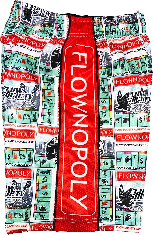 Flow Society Boys' Flownopoly Boys Athletic Shorts - Boys Shorts - Gym Shorts