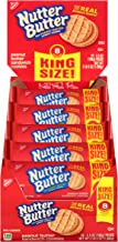 Nutter Butter King Size Peanut Butter Sandwich Cookies, 10 Count Box, 35 Ounce (Pack of 2)