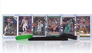 Boston Celtics Basketball Cards: Kyrie Irving, Al Horford, Gordon Hayward, Jaylen Brown, Marcus Morris, Marcus Smart ASSORTED Basketball Trading Card and Wristbands Bundle