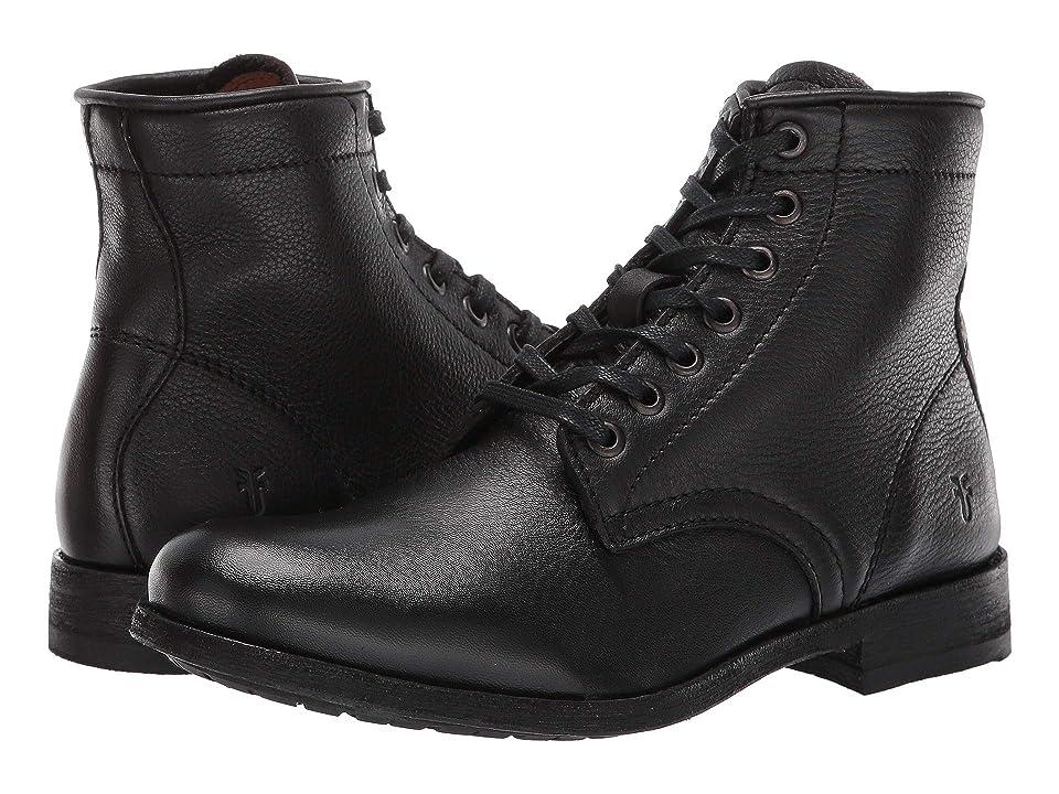 Frye Tyler Lace-Up (Black) Women's Boots