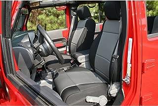 Rugged Ridge 13214.09 Black & Grey Custom Neoprene Front Seat Cover - Pair