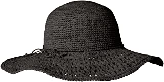 Women's Raffia Packable Floppy Hat