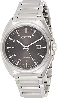 Citizen Men Black Dial Stainless Steel Band Watch - aW1570-87H