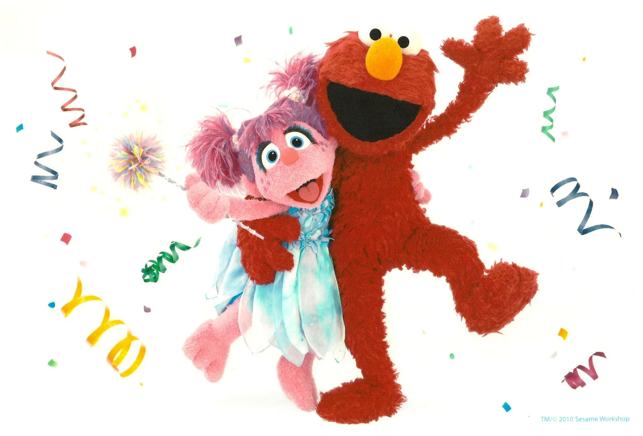 Sensational Sesame Street Elmo Abby Cadabby Birthday Edible Image Cake Personalised Birthday Cards Veneteletsinfo