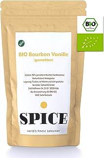 Bio Bourbon Vanille gemahlen 25g - Bourbon Vanillepulver aus kontrolliert-biologischem Anbau Madagaskar, echte gemahlene Bourbon Vanille, exotisches Aroma
