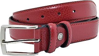 GRESEL Cintura Uomo e Donna in Vera Pelle, Accorciabile, Altezza 3,5cm