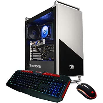 iBUYPOWER Pro Gaming PC Computer Desktop 136A (AMD Ryzen 5 3600 3.6GHz, NVIDIA RTX 2060 6GB, 16GB DDR4 RAM, 240GB SSD, 1TB HDD, WiFi Ready, Windows 10 Home)