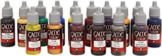 Vallejo Game Color Advanced Acrylic Paint Set - Assorted Colours (Pack of 16)
