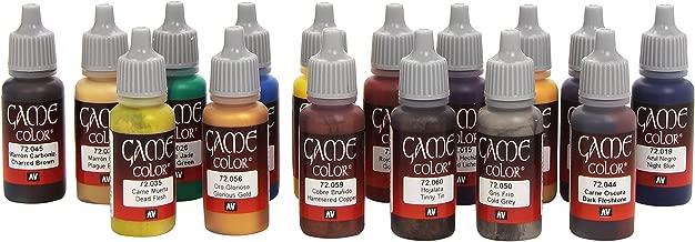 72298 Game Colour Advanced 16 Colour Set Acrylic Paint