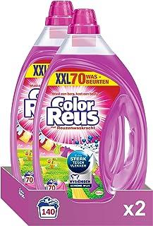 Witte Reus Color Reus Gel, Vloeibaar Wasmiddel, Gekleurde Was, Voordeelverpakking - 140 (2 x 70) Wasbeurten