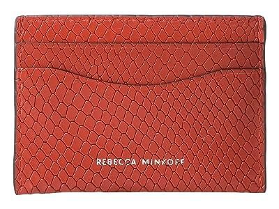 Rebecca Minkoff Card Case (Tomato) Wallet