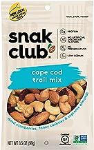 Snak Club All Natural Cape Cod Trail Mix, Non-GMO, 3.5-Ounces, 6-Pack