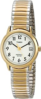 Women's T2H491 Easy Reader 25mm Two-Tone Stainless Steel Expansion Band Watch