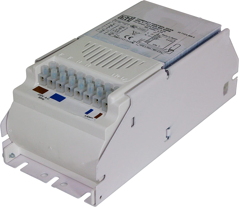 600-W 600-Watt Vorschaltgert ETI für Natriumdampflampe NDL Grow MH & HPS