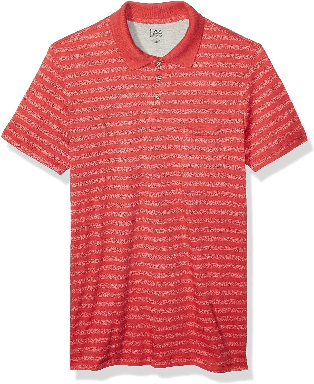 Lee Men's Polo Shirt Short Sleeve Big Tall Regular