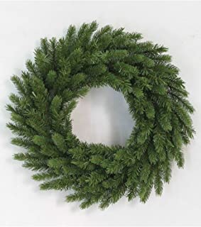 KING OF CHRISTMAS 60 Inch King Fraser Fir Artificial Commercial Size Wreath Unlit