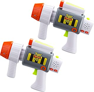 eKids Toy Story 4 Laser-Tag for Kids Infared Lazer-Tag Blasters Lights Up & Vibrates When Hit
