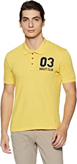 Amazon Brand - Symbol Men's Plain Polo