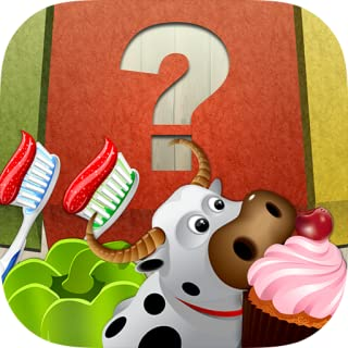 Sorting n Learning game for Kids – 100 fruits, vegetables, desserts, animals and home objects for classification