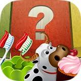 imparare ordinando gioco per bambini - 100 frutta, verdura, dolci, animali e oggetti domestici per la classificazione