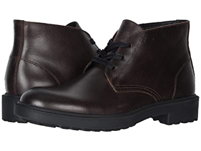 FRYE AND CO. Jackson Chukka (Dark Brown Vintage Pull Up Leather) Men