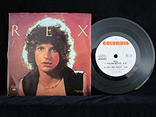 Rex (USA white label promo EP in picture sleeve)