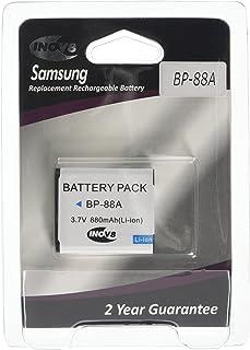 Inov8 batería para cámara Digital R-C-B Samsung BP-88A BP 88 A BP88A 880 mAh 37 V (4 Unidades)