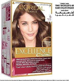 L'Oreal Paris Excellence Crème Permanent Hair Color, 6.0 Dark Blonde