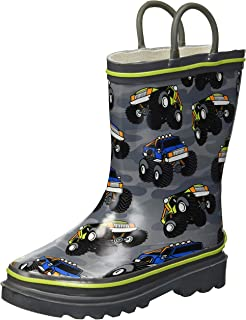 Kid's Waterproof Printed Rain Boot