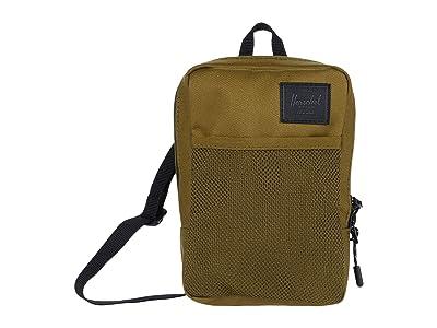 Herschel Supply Co. Sinclair Large (Khaki Green) Cross Body Handbags