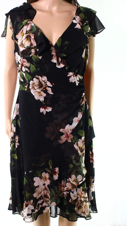 Lauren Ralph Lauren Womens Webby KneeLength Floral Print Party Dress