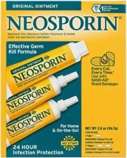 Neosporin Original Ointment First Aid Antibiotic Treatment 3 Pack Value Pack €¦