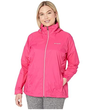 Columbia Plus Size Switchback III Jacket (Cactus Pink) Women
