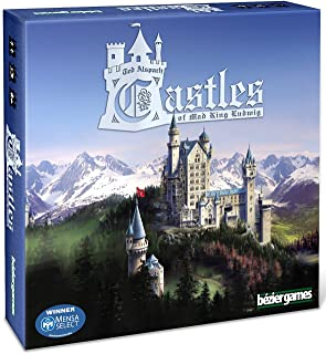 Castles of Mad King Ludwig Tile Game