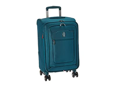 Delsey Hyperglide Expandable Spinner Carry-On (Teal) Carry on Luggage