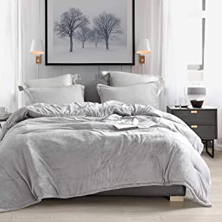 Byourbed Coma Inducer Oversized King Comforter - Wait Oh What - Tundra Gray