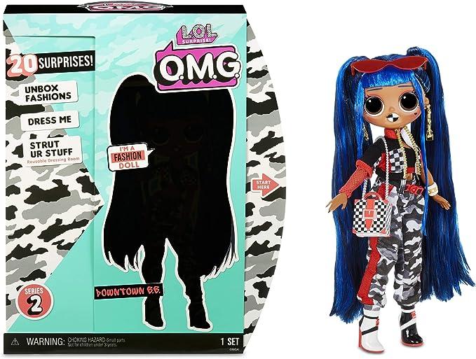 1080 opinioni per LOL Surprise OMG Downtown BB Bambola alla moda con 20 sorprese- Acconciatura e